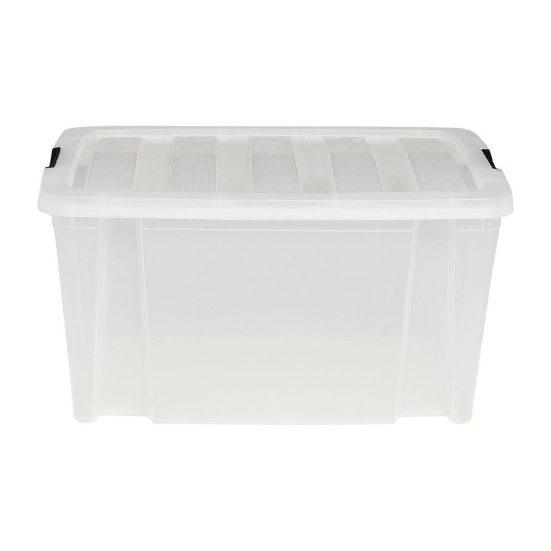 Clipbox - 45 liter - transparant