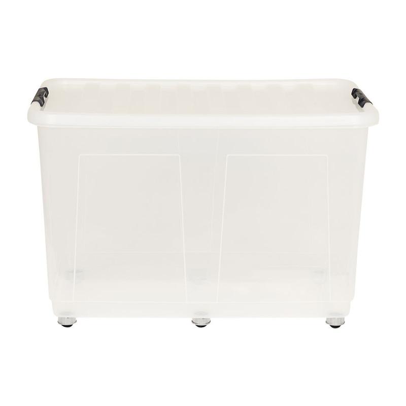 Opbergbox met wieltjes - 150 liter - 80x50x50 cm