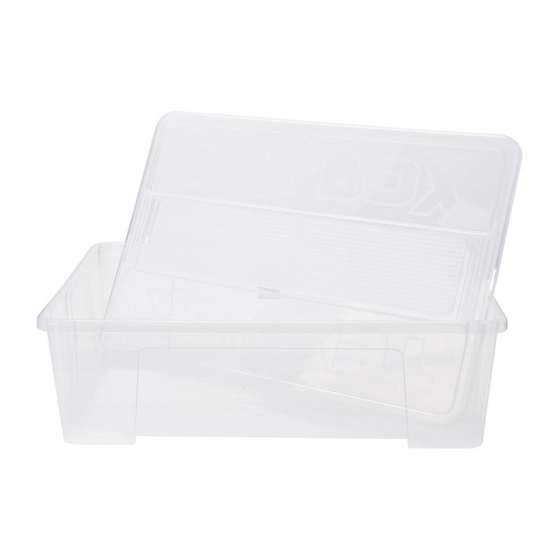 Opbergbox - 57x38x17 cm - helder