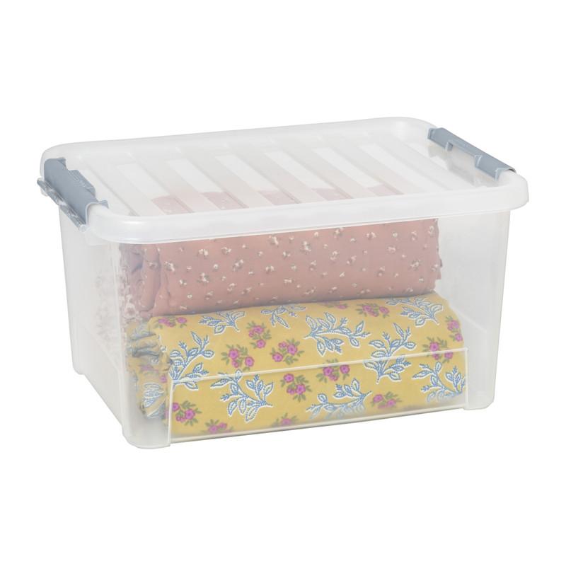 Clipbox 25 liter - 44x31x23 cm - set van 3