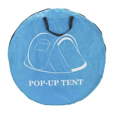 Pop-up tent - 2-persoons - blauw