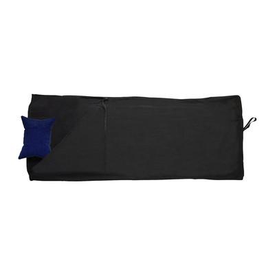 Slaapzak fleece - 190x80 cm - zwart