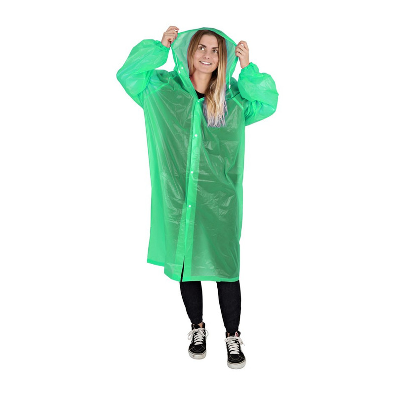 Poncho - one size - groen