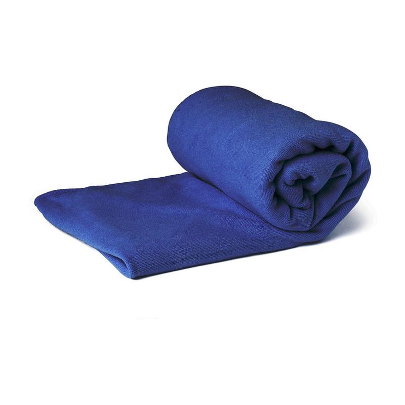 Travel badlaken - 75x150 cm - blauw