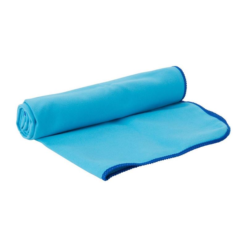 Travel-/sporthanddoek soft - 40x80 cm - blauw