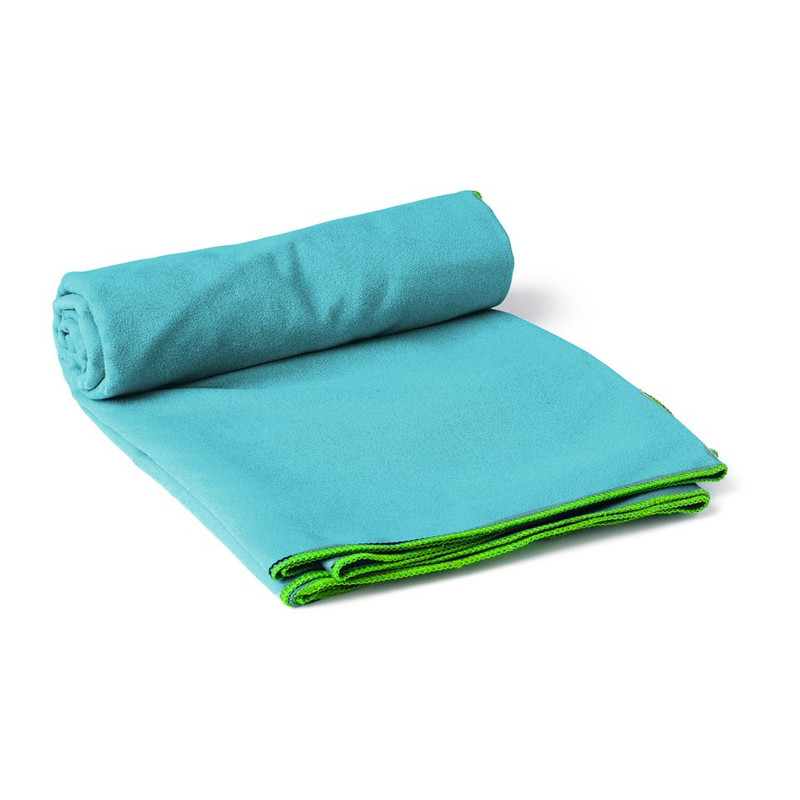 Travel-/sporthanddoek soft - 60x120 cm - blauw (oud)