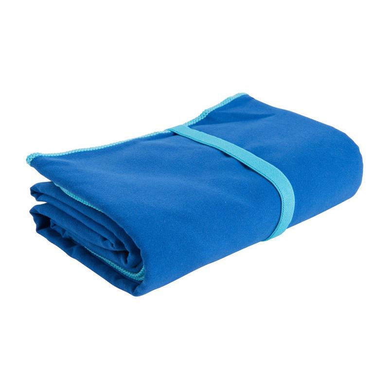 Travel-/sporthanddoek soft - 110x180 cm - blauw