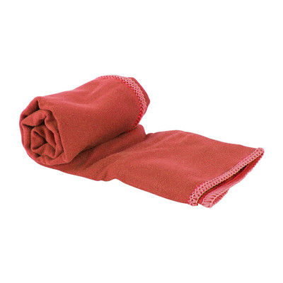 Travel-/sporthanddoek - 40x80 cm - rood