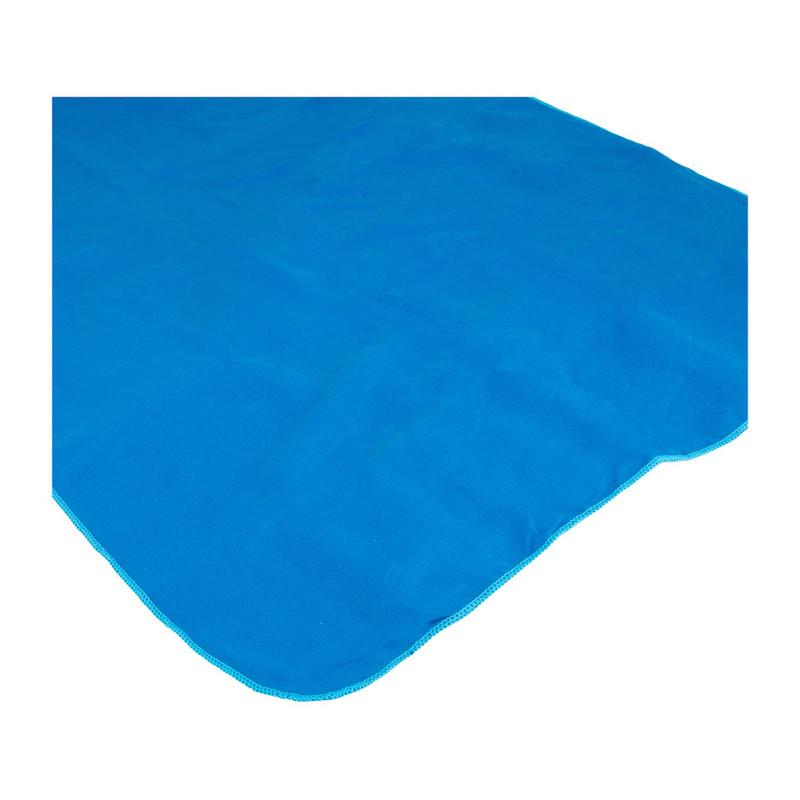 Travel-/sporthanddoek soft - 60x120 cm - blauw