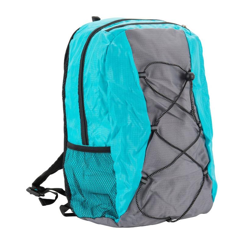 Backpack compact - 15 liter - blauw/grijs