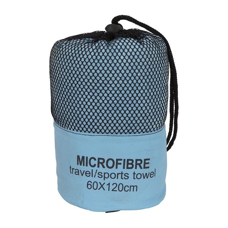 Reishanddoek - 60x120 cm - lichtblauw