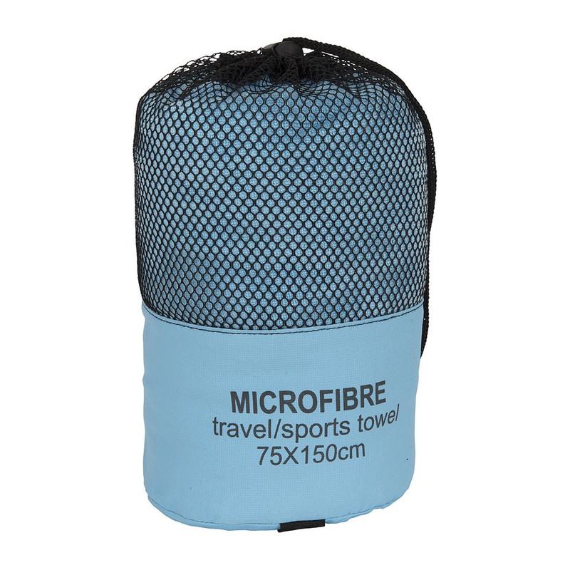 Reishanddoek - 75x150 cm - lichtblauw