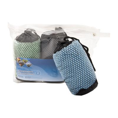 Reis en sporthanddoek - 40x60 cm - set van 3