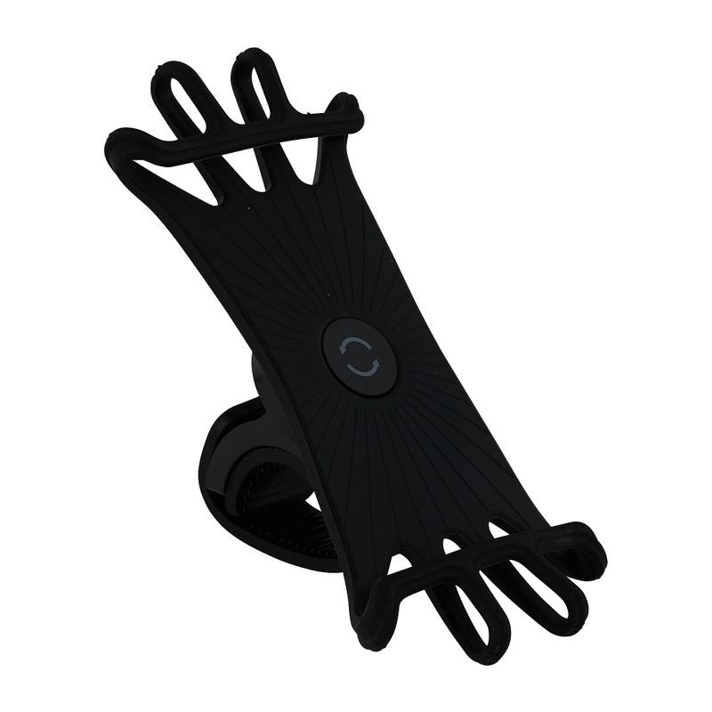Telefoonhouder fiets - zwart