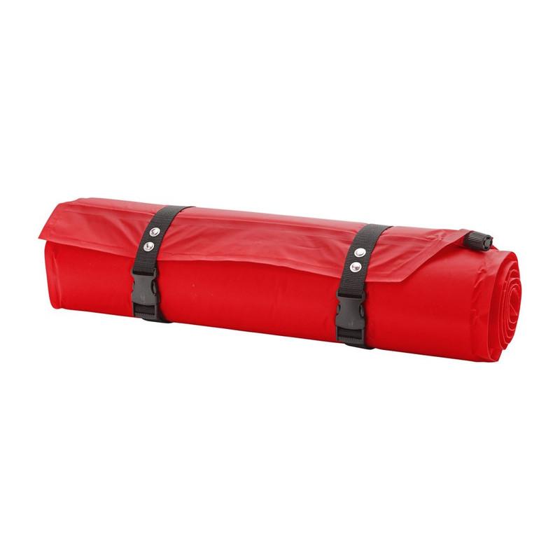 Slaapmat zelfopblazend - 180x50 cm - rood
