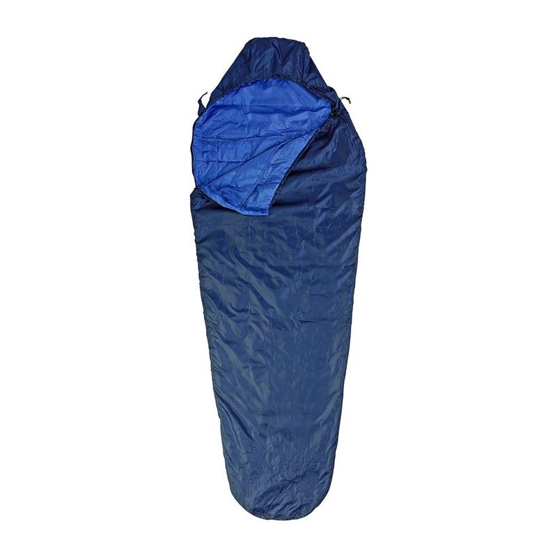 Slaapzak luxe - 220 cm - blauw