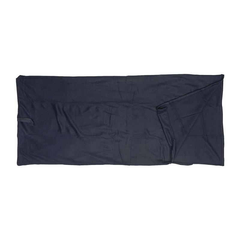 Slaapzak fleece - 190x80 cm - zwart oud1
