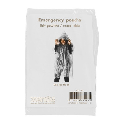 Emergency poncho - transparant