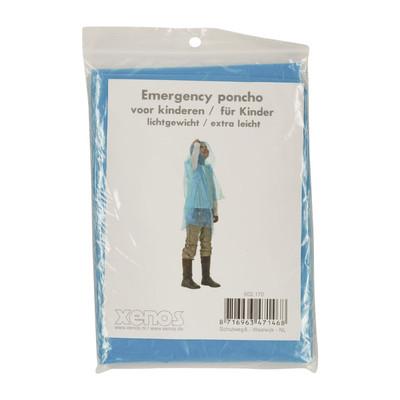 Emergency poncho kids - lichtblauw