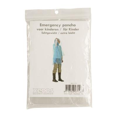 Emergency poncho kids - transparant