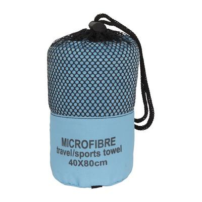 Reishanddoek - 40x80 cm - lichtblauw