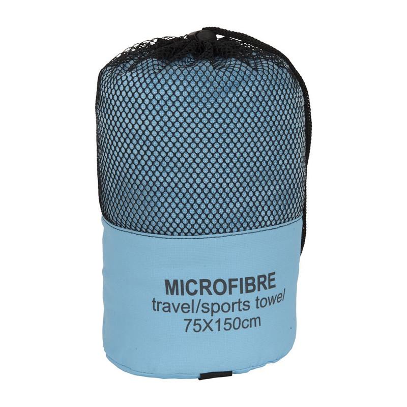 Reishanddoek - lichtblauw - 75x150 cm