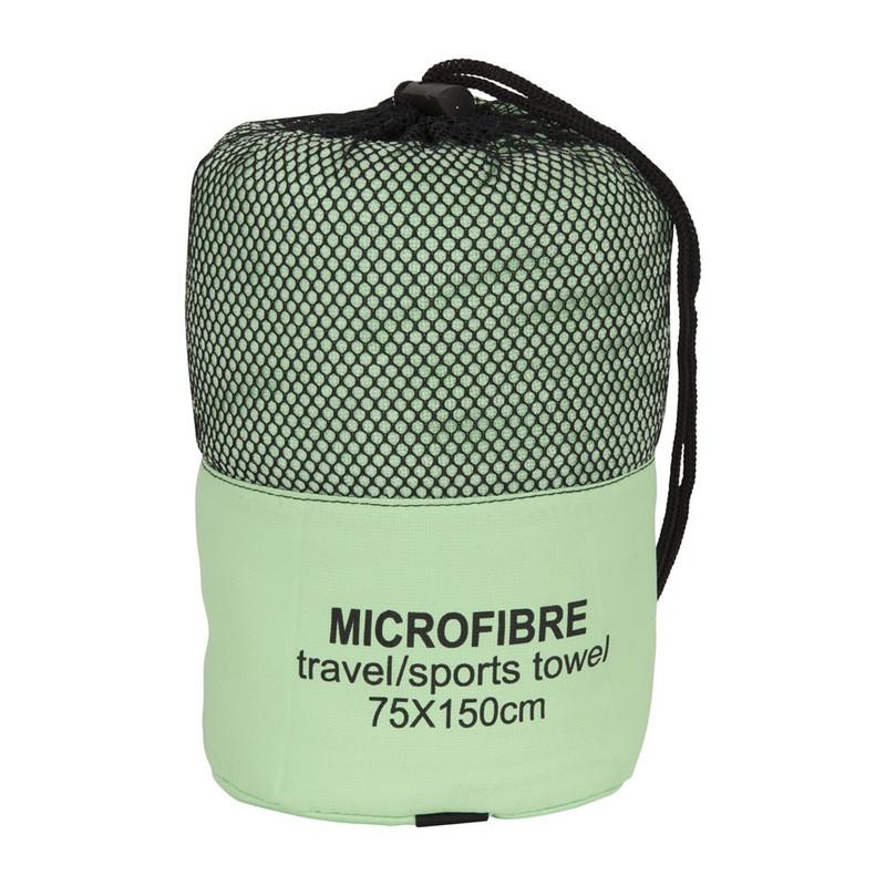 Microvezel Handdoek Hema.Reishanddoek 75x150 Cm Groen
