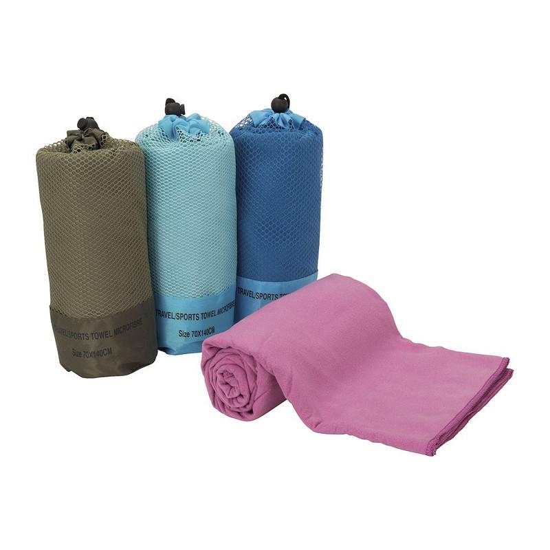 Travel/sporthanddoek - 70x140 cm - donkerblauw