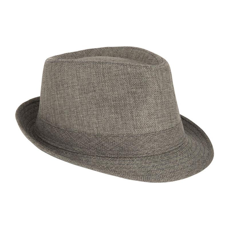 Panama hoed grijs