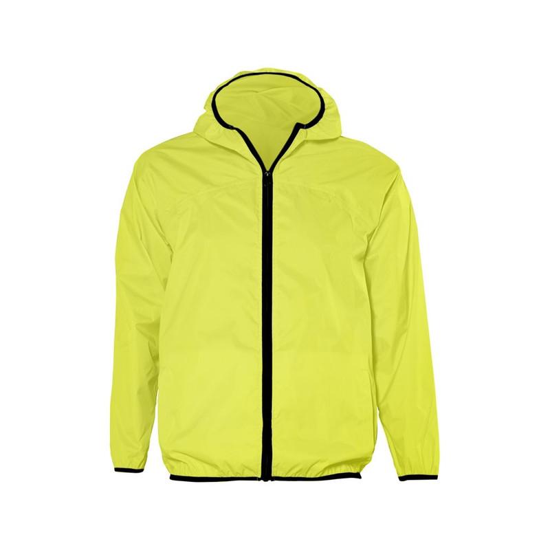 Regen-/windjack - L/XL - fluorgeel