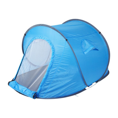 Pop-up tent - 2-persoons - blauw (oud)