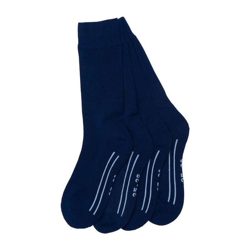 Coolmax trekkingsokken 35/38 – blauw - 2 paar