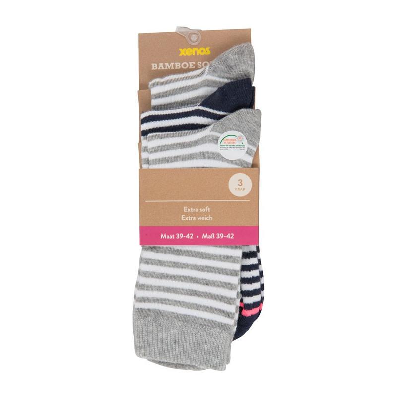 9065e86f64a Bamboe sokken - 39/42 - 3 paar vergroten ...