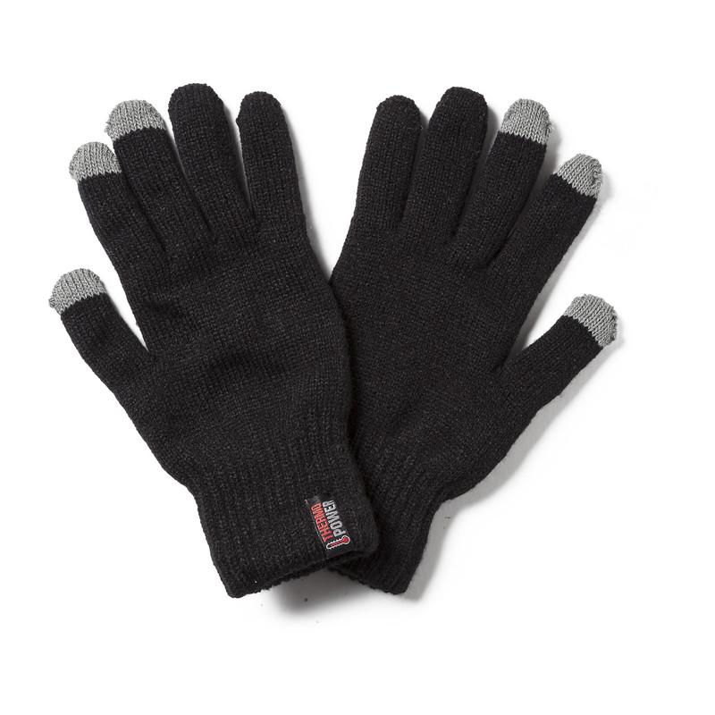 Thermo handschoenen S/M - zwart