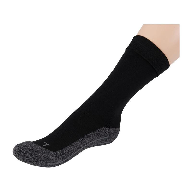 Coolmax bamboe sokken 35 38 zwart 2 paar