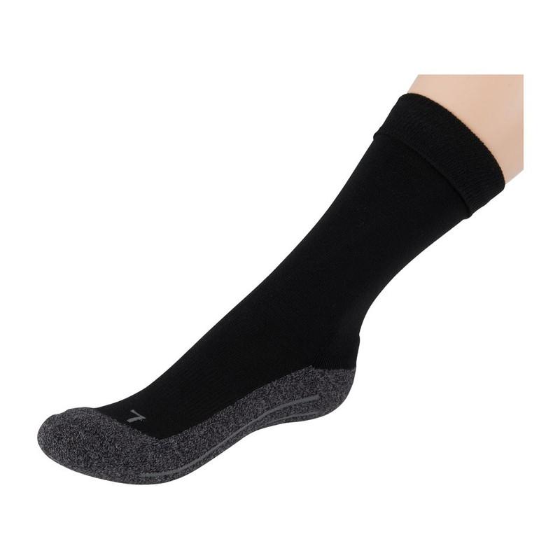 Coolmax bamboe sokken 43/46 - zwart - 2 paar