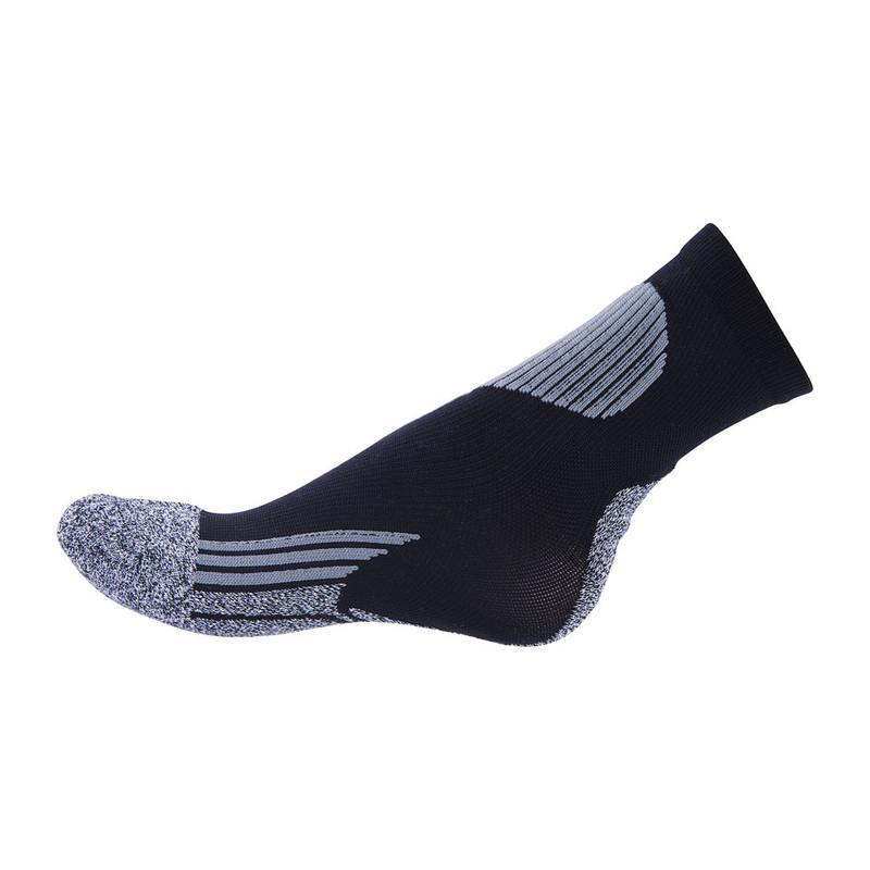 Coolmax sportsokken 35/38 - zwart/grijs - 2 paar