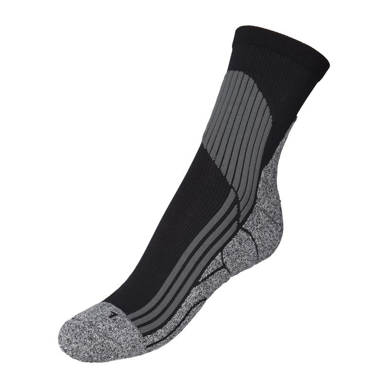 Sokken Coolmax 43/46 - zwart - 2 paar