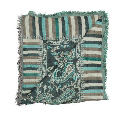 Sjaal Paisley - groen