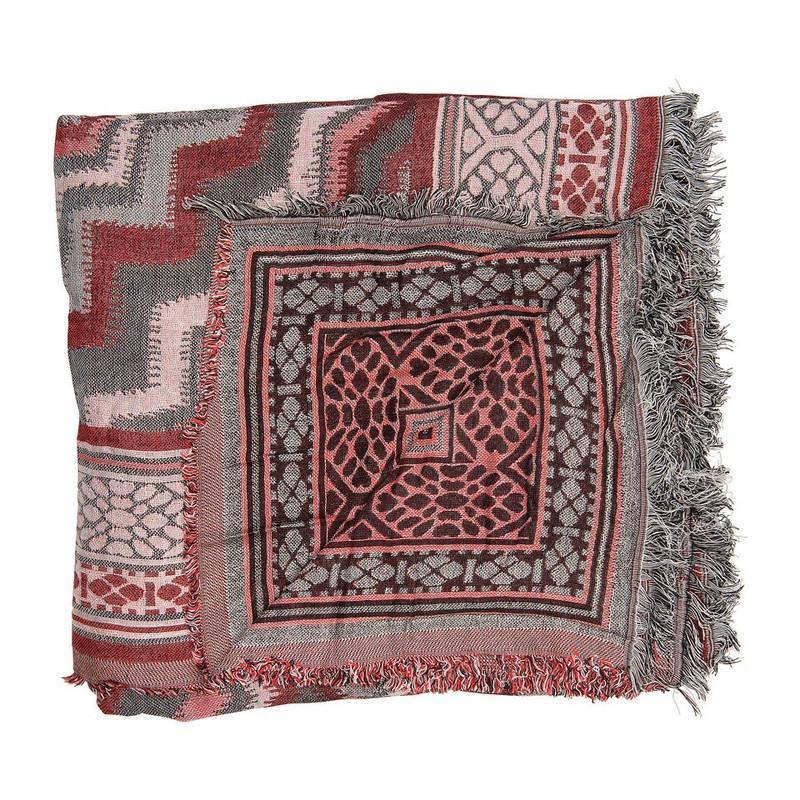 Sjaal met zigzag patroon