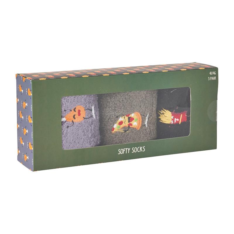 Sokken giftbox fastfood - maat 41-46