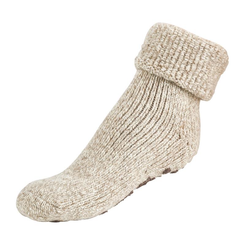 Wollen sokken - beige - 43/46