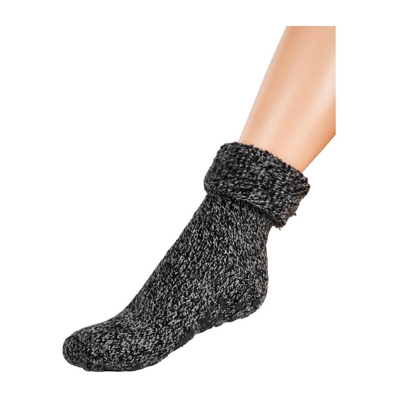 Wollen sokken - antraciet - 39/42