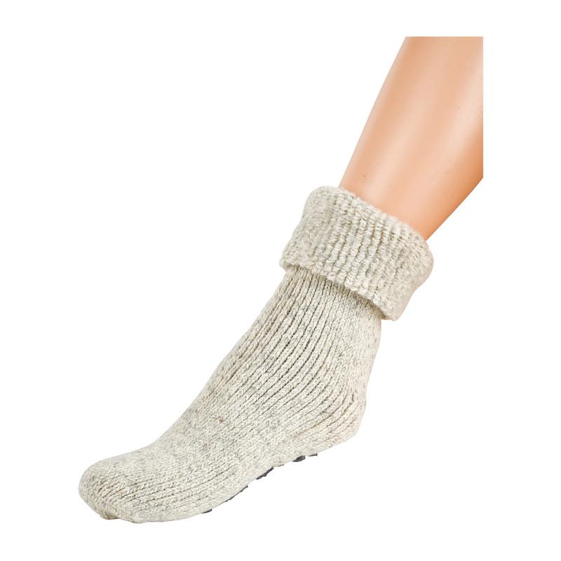 Wollen sokken - grijs - 35/38