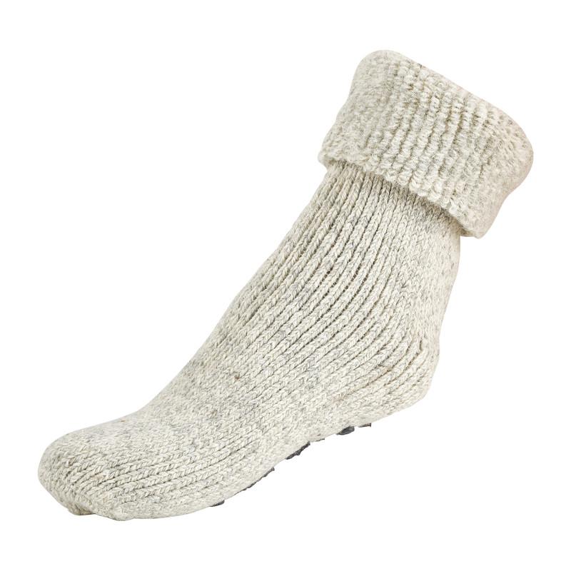 Wollen sokken - grijs - 43/46