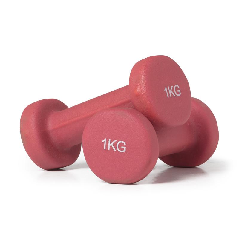 Dumbbell 1 kg - 2 stuks