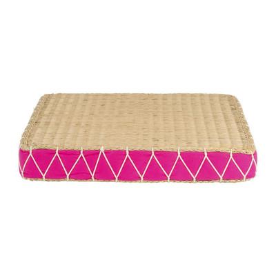 Vloerkussen Brasil XL - roze - 50x50 cm