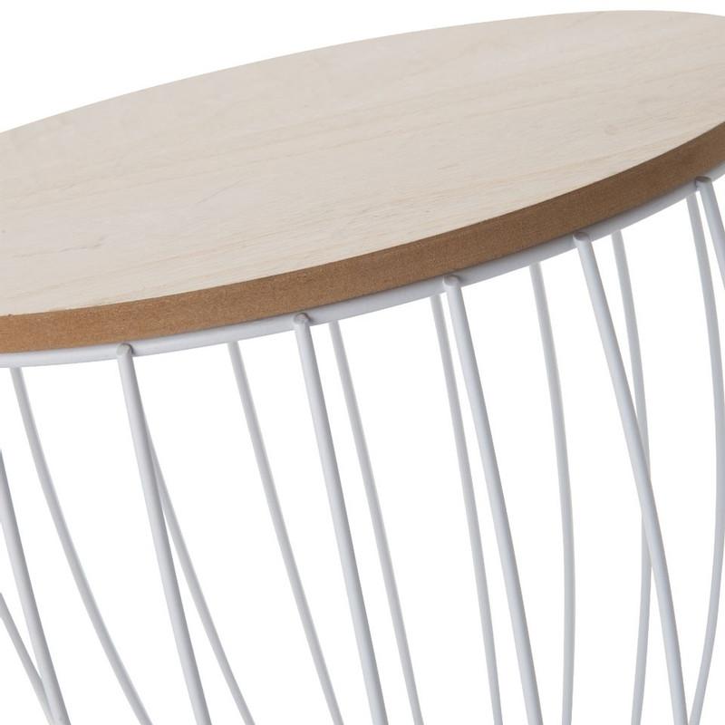 Opbermand Orebro - spijlen - 37x39 cm