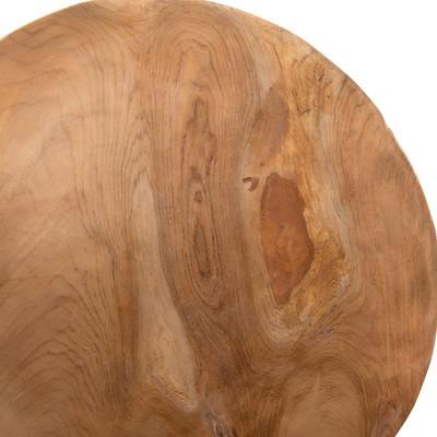 Platte schaal roots - 38 cm