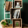 Decoratieve ladder - 170 cm - wit